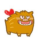 (猪)ぼさいの1(個別スタンプ:09)