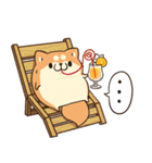 ボンレス犬 in さま~(個別スタンプ:28)