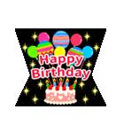 【飛び出す★お誕生日カード】おめでとう♪(個別スタンプ:01)