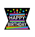 【飛び出す★お誕生日カード】おめでとう♪(個別スタンプ:11)