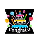 【飛び出す★お誕生日カード】おめでとう♪(個別スタンプ:16)