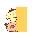 パンパカパンツ×ポムポムプリン アニメ♪(個別スタンプ:13)