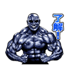 筋肉マッチョマッスルスタンプ 8(個別スタンプ:14)