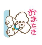(犬)うるわしのプードル(個別スタンプ:13)