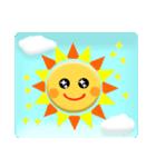 太陽さん☆雲さん☆青空メッセージ(個別スタンプ:28)