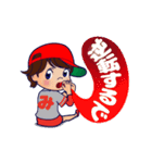動く!頭文字「み」女子専用/100%広島女子(個別スタンプ:11)