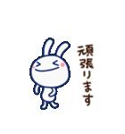 ほぼ白うさぎ(基本セット)(個別スタンプ:24)