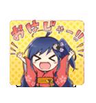 福島県応援キャラクター 中通りくちゃん(個別スタンプ:1)