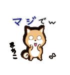 柴犬 まちこ(個別スタンプ:4)