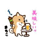 柴犬 まちこ(個別スタンプ:5)