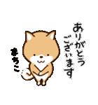 柴犬 まちこ(個別スタンプ:9)