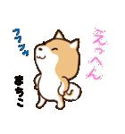 柴犬 まちこ(個別スタンプ:11)