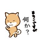 柴犬 まちこ(個別スタンプ:16)