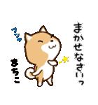 柴犬 まちこ(個別スタンプ:21)