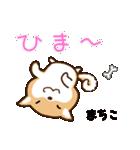 柴犬 まちこ(個別スタンプ:23)