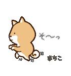 柴犬 まちこ(個別スタンプ:32)