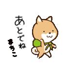 柴犬 まちこ(個別スタンプ:33)