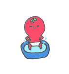 トマトちゃん 夏(個別スタンプ:04)