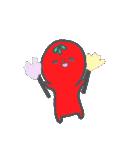 トマトちゃん 夏(個別スタンプ:15)