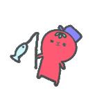 トマトちゃん 夏(個別スタンプ:17)