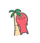 トマトちゃん 夏(個別スタンプ:24)