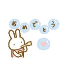 お誕生日を全力で祝う動物たち(動)(個別スタンプ:02)