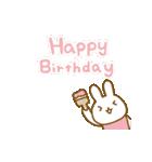 お誕生日を全力で祝う動物たち(動)(個別スタンプ:07)