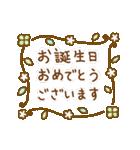 お誕生日を全力で祝う動物たち(動)(個別スタンプ:09)