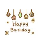 お誕生日を全力で祝う動物たち(動)(個別スタンプ:12)