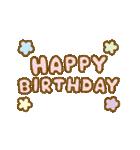 お誕生日を全力で祝う動物たち(動)(個別スタンプ:20)