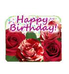 誕生日に花を♪Part 4(個別スタンプ:01)