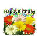誕生日に花を♪Part 4(個別スタンプ:03)