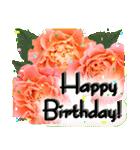 誕生日に花を♪Part 4(個別スタンプ:06)