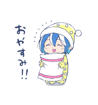 泣き虫!悪魔のメムメムちゃん(四谷啓太郎)(個別スタンプ:3)