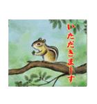デジタルペンで描く日本の四季のたより墨絵(個別スタンプ:02)