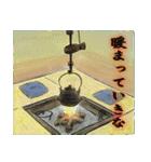 デジタルペンで描く日本の四季のたより墨絵(個別スタンプ:08)