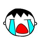 泣き虫な男の子(個別スタンプ:02)
