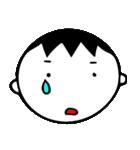 泣き虫な男の子(個別スタンプ:04)