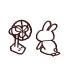 完全脱力うさちゃん(動)2(個別スタンプ:13)