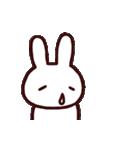 完全脱力うさちゃん(動)2(個別スタンプ:15)