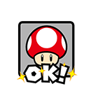 マリオカート GO!GO! スタンプ(個別スタンプ:11)