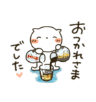 しろねこ真夏&秋パック(改訂版)(個別スタンプ:13)