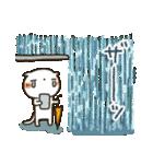 しろねこ真夏&秋パック(改訂版)(個別スタンプ:36)
