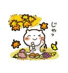 しろねこ真夏&秋パック(改訂版)(個別スタンプ:40)