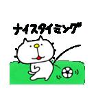 りるねこ サッカー(個別スタンプ:13)
