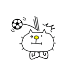 りるねこ サッカー(個別スタンプ:18)