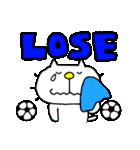 りるねこ サッカー(個別スタンプ:32)