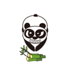 Angry Face Panda(個別スタンプ:22)