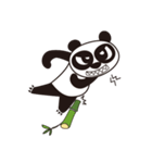 Angry Face Panda(個別スタンプ:25)