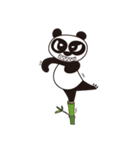 Angry Face Panda(個別スタンプ:34)